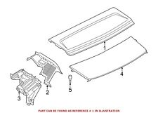 For BMW Genuine Package Tray Trim Rear Center 51477342977
