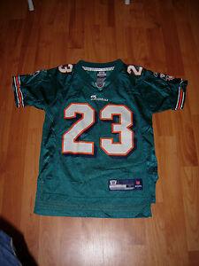 Miami Dolphins Kids Size Small (SZ 8) Jersey #23 Ronnie James NFL Reebok Size S