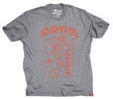 OKLAHOMA CITY THUNDER GRATEFUL DUNK'N DEAD T-SHIRT
