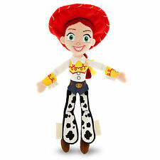 Disney Store Authentic Pixar Fest Toy Story Jessie Cowgirl Plush Toy Doll 11""