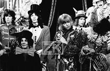 BRIAN JONES Rolling Stones JAGGER Rock & Roll CIRCUS Clown Pop Photo 1968 #1
