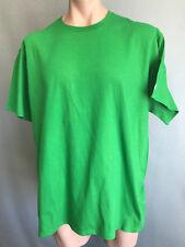 BNWOT Mens Sz 2XL Champion Brand Lime Green Stretch Short Sleeve T Shirt Tee Top