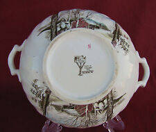 COLLECTIBLE JOHNSON BROS. THE FRIENDLY VILLAGE SUGAR MAPLES TUREEN WITHOUT LID