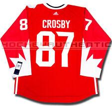 SIDNEY CROSBY 2016 TEAM CANADA NEW PREMIER JERSEY ADIDAS WORLD CUP OF HOCKEY