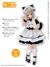 Azone Pureneemo PNS Cat Cafe Maid Set Black x White Momoko Doll Pullip Obitsu