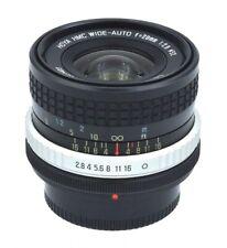 HOYA HMC WIDE-ANGLE f=28mm 1:2.8 Lens with  Canon FD / FL Mount