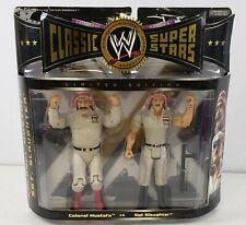 Colonel Mustafa v/s SGT. Slaughter WWE Jakks 2006 Classic Superstars Collector