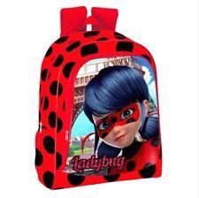 Ladybug-Mädchenkostüm mit Tasche Miraculous rot-schwarz Cod.320438
