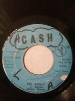 "Jackie Brown – Do Right - 7"" Vinyl Single 1974"