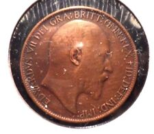 CIRCULATED 1907 1/2 PENNY BETTER GRADE UK COIN!! (41615)