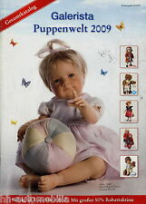 Catálogo galerista muñecas mundo 2009 Dolls Berenguer Heart & Soul Zwergnase Götz