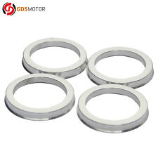 Set of 4 Alloy Aluminum Wheel Hub Centric Rings OD=108mm To ID=78.1mm Hubrings