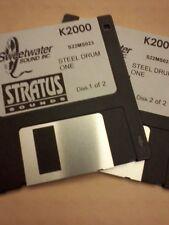 KURZWEIL ~ STEEL DRUM ONE ~ Floppy Disks K2X/K25/K26 w/VAST PROGRAMMINGS!