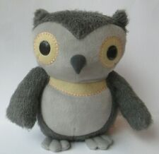"""Kohls Cares for Kids Gray Owl Soft Plush Aesop's Fables Hooty Owl 10"""" Fuzzy PD4"""