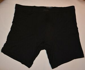 Men's New Underwear Calvin Klein BLACK Series Boxer Brief Color Black Size M