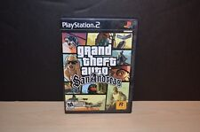 GRAND THEFT AUTO SAN ANDREAS GAME FOR PLAY STATION 2 - USED