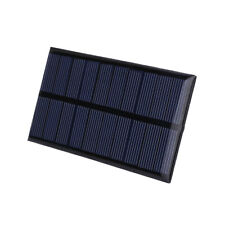 5V 1W Solar Panel Solar Cells Battery Phone Charger Power Outdoor DIY Portable