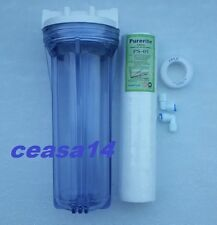 """Pre Filter Housing/CaseTransparent /Standard Size10"""" For/RO/UV/Water Purifiers"""