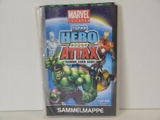 topps Hero Attak  Trading Card Game Marvel Universe  - Sammelmappe