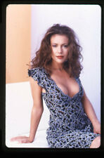 Alyssa Milano Breathtaking Sultry Busty Glamour Photo Original 35mm Transparency