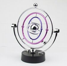 Perpetual Motion Machine Cosmos Ferris Wheel Revolving Office Desk Toy Plating