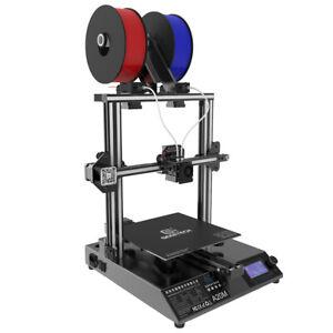 Due colori Geeetech A20M stampante 3d  2 in 1 estrusore Facile da montare