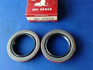 National Oil Seals Pinion Seal Multipurpose Seal # 470331N Set of 2