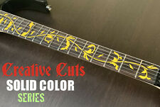 Ibanez style Tree of Life DIY Vinyl inlay Decal set 4 all Guitar Variety Colors