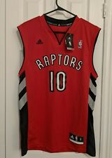 NBA Toronto Raptors Jersey Demar DeRozan Adidas Red Size S