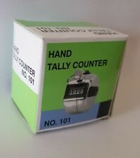 Hand held tally counter x 6 pieces. Black Only BOX OF 6 COUNTERS