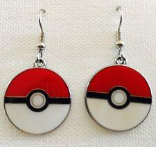 Pokémon Poke-Ball Earrings Surgical Hook New