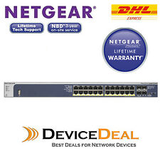 NETGEAR M4100-24G-POE+ Prosafe 24-Port PoE Gigabit L2+ Managed Switch GSM7224P