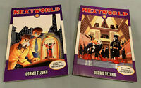 NEXTWORLD 1 & 2 - Osamu Tezuka English Dark Horse Manga Books COMPLETE SERIES!