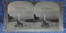 Japan Boats with Snow Capped Mt Fuji in Background Japan, Keystone Stereoview