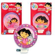 Dora the Explorer Curved Night Light Nightlight Kids Bedroom Bathroom Home Decor