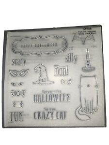 Brand New! Close To My Heart - Stamp of the Month: Purr-Fect Halloween (S1608)