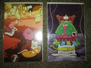 LOT 2 ADVENTURE TIME ANNUAL 1 COMIC CON VARIANT & RETAILER INCENTIVE VARIANT- NM
