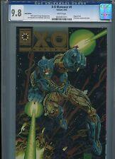 X-O Manowar #0  (Gold Edition)   CGC 9.8  WP