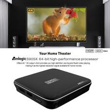 M8S PRO Plus Smart Android 7.1 TV Box Quad-core 4K 8GB HD Media Player O1X4