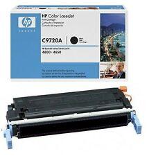 ORIGINAL HP C9720A  BLACK TONER CARTRIDGE 4600 4610 4650 641A  FREE FAST POSTAGE