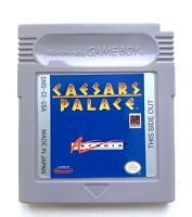 Caesars Palace ORIGINAL Nintendo Game Boy Game Tested + Working & Authentic!