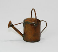 Dollhouse Miniature Aged Rusty Look Metal Watering Can