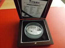 *Selten ! Liberia 10 Dollars 2005 Silber PP *  Titanic (Ki.8)