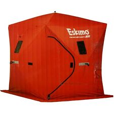 Eskimo Quickfish 2 Person Portable Pop Up Ice Fishing Tent House Shack Shelter