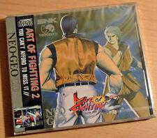 ART OF FIGHTING 2 - Neo Geo CD - USA English - NEW/SEALED