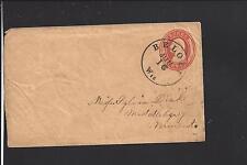 BELOIT, WISCONSIN COVER, 3CT NESBITT ENTIRE,ROCK CO. 1838/OP VF+.