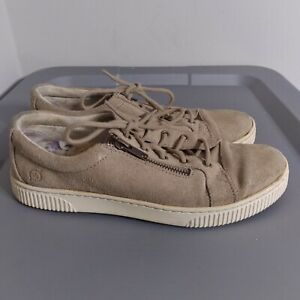 Born Tamara Women's Size 8M Shoes Brown Lace Up Comfort Cushioned Sneakers