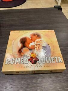 ROMEO Y JULIETA   VHS BOX SPANISH EDITION  EDICION LIMITADA LEONARDO DICAPRIO