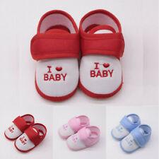 Newborn Infant Baby Boys Girls Printed Cartoon Prewalker Soft Sole Sandals Shoes