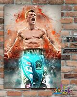 RICKY HATTON BOXING LEGEND, Custom Designed Metal Wall Sign-2 sizes(#1)